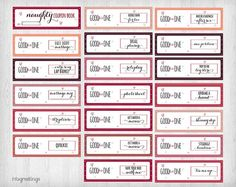 Printable NAUGHTY Coupons for boyfriend husband by InfoGreetings