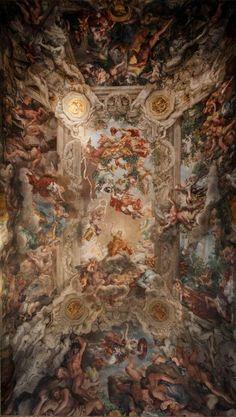 Pietro da Cortona, Trionfo della Divina Provvidenza ( 1633-39), Roma, Palazzo Barberini