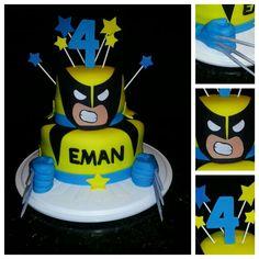 Wolverine Cake for Maxim's 5th birthday