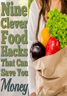 I often find myself throwing away vegetables that have turned bad before I've had a chance to cook them, or tossing coffee, or broth I can't immediately use.   Do you have that problem too?  Do you feel like your being wasteful? All that changed the day I learned of these creative and clever food hacks.  I'm now not wasting food (which I hate) and I'm stretching my food budget even further.  I love hack #4!
