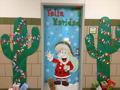fun christmas door decoration ideas office school classroom doors ideas