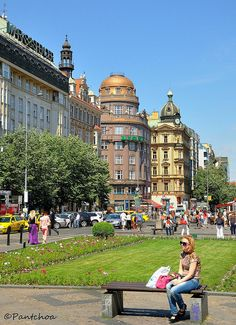 Wenceslas Square - Prague, Czech Republic