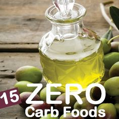 15 Best Zero Carb Foods You Should Include In Your Diet: There is no doubt that zero carb diet is effective, but it can cause a few harmful effects to your body initially such as dizziness, headache, digestive problems, low blood sugar, muscle cramps, weakness, insomnia, frequent urination , diarrhea etc.Given below are 15 such zero carb foods that should be consumed while following this ketogenic diet.