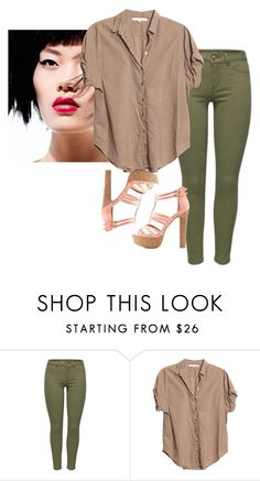 """Plain"" by ky-thornton ❤ liked on Polyvore featuring Xirena and Charlotte Russe"