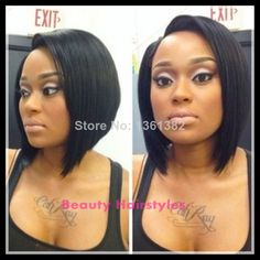 "Stock!!!Fashion bob wigs peruvian short human hair wigs 6A Grade U Part Human Hair Bob Wigs for black women free shipping $<span itemprop=""lowPrice"">101.00</span> - <span itemprop=""highPrice"">192.00</span>"