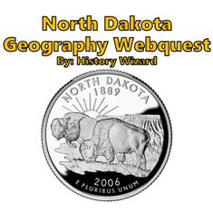 North Dakota Webquest by History Wizard | Teachers Pay Teachers