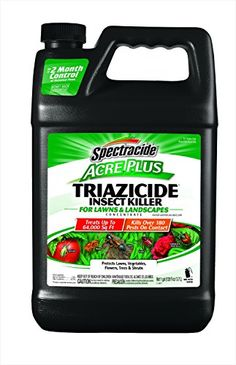 Spectracide HG-96203 Acre Plus Triazicide Insect Killer for Lawns and Landscapes Concentrate, 1-Gallon | shopswell