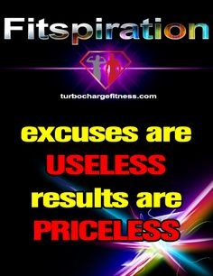 You Either Have Excuses or Results!