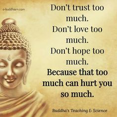 Be in balance. It's ok to not give trust right away to everyone. Too trusting can lead to heartache.