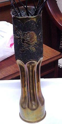 Trench Art ... Vase