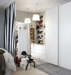 Bem perto dos sonhos. #decoração #roupeiros #IKEAPortugal