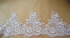 Hey, I found this really awesome Etsy listing at https://www.etsy.com/listing/289993847/alencon-floral-lace-in-ivory-for-wedding