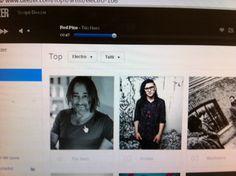 "My work ""Trio Nero"" Zero 2 Funk Deep revolution grooves charts n° 1 in Deezer chart, february 2014"