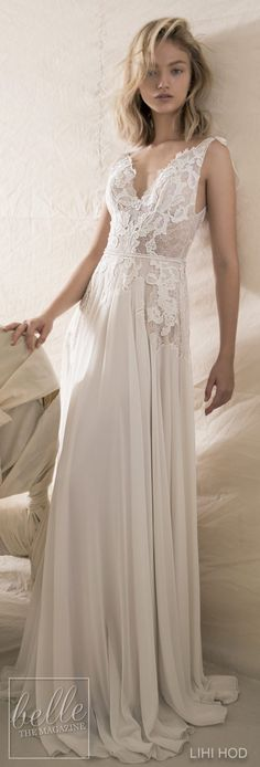 Wedding Dresses by Lihi Hod Fall 2018 Couture Bridal Collection - Camilla #WeddingDress