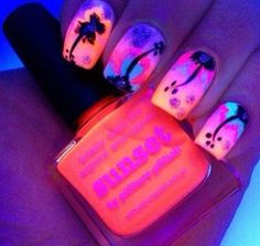 Tropical Scene //#nailart