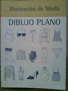Libro Ilustración de Moda Dibujo Plano on eBay!