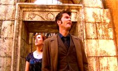 The Doctor and Donna in Pompeii