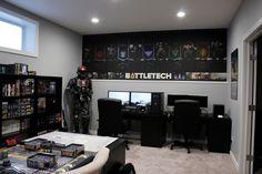 14 fascinating battlestations images desks gaming setup desk rh pinterest com