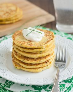 Summer Squash and Chive Fritters by Tracey's Culinary Adventures, via Flickr