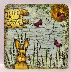 Canvas-style board by Lisa B. Brett im Canvas-Stil von Lisa B. Style Board, Hobby World, Lisa, Hobby Trains, March Hare, Craft Shop, Types Of Art, Creative Design, Birds