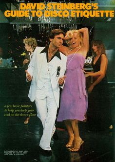 1979 Disco Etiquette...I don't remember David Steinberg being particularly related to disco.