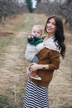 the sling diaries: sydney and everett babywearing expression! #sakurabloom