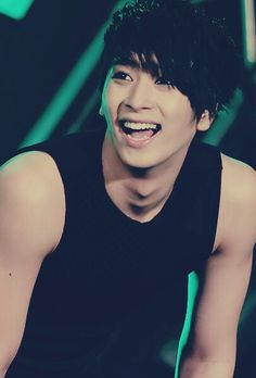 Chansung - 2PM -great smile..  he was a lot of fun on Running Man.. great personality...