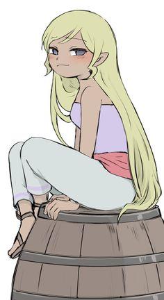 Smug Petra, Legend of Zelda Legend Of Zelda Memes, Legend Of Zelda Breath, Malon Zelda, Female Characters, Cartoon Characters, Kingdom Hearts, Character Art, Character Design, Princesa Zelda
