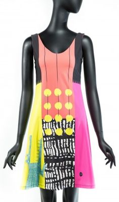 Narrow A-line Volt Design, Crinkles, Ready To Wear, Tank Tops, Stylish, Fabric, Swimwear, How To Wear, Dresses