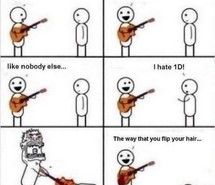 BAHA! Except I am usually super happy when someone says they hate 1D because that means more for me:)