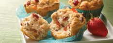 Gluten-Free Grain and Fruit Muffins Recipe from our friends at Minute® Rice