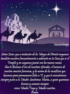A LA EPIFANÍA DEL SEÑOR     Adoración Te adoramos, oh Cristo Eucarístico, oh Pan de Vida, Tú que te has manifestado como el Mesías.   T...