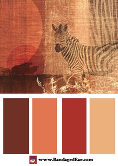Safari Color Palettes « BandagedEar.com Blog