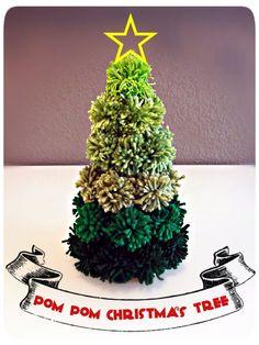 ideas diy christmas tree decorations pom poms for 2019 Christmas Tree Crafts, Christmas Makes, Noel Christmas, Homemade Christmas, Christmas Projects, Winter Christmas, Christmas Tree Decorations, Holiday Crafts, Christmas Ornaments