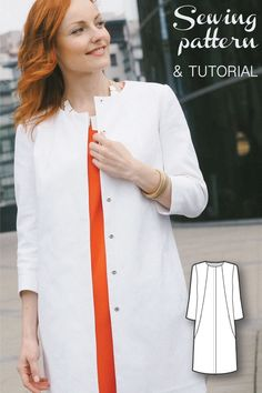 Womens Sewing Patterns - Sewing Tutorials - Coat Patterns - Summer Coat Sewing…