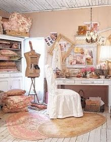 73 besten shabby chic craft room inspiration bilder auf. Black Bedroom Furniture Sets. Home Design Ideas