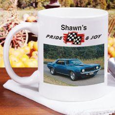 Personalized Pride and Joy Personalized Photo Coffee Mug