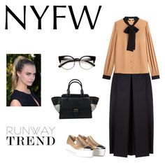 """""""The new casual"""" by seek-couture ❤ liked on Polyvore featuring Miu Miu, Alexander McQueen, Michael Kors, ZeroUV and Burberry"""