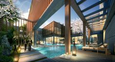 Villa Renderings on Behance
