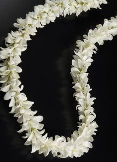 White Silk Jasmine Flower Leis $5.99 each/ 3 for $5 each