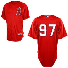Spring Training Los Angeles Angels of Anaheim Authentic Personalized Cool  Base BP Jersey - MLB. 63cba0efa
