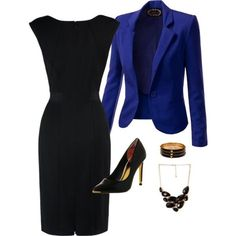 >>>Cheap Sale OFF! >>>Visit>> A fashion look from February 2014 featuring tailored dresses tailored blazer and stiletto pumps. Browse and shop related looks. Office Fashion, Work Fashion, Fashion Looks, Fashion Outfits, Womens Fashion, Outfits 2014, Fashion Wear, Summer Outfits, Fashion Trends