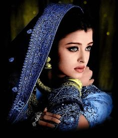 Aishwarya Rai: One of the most Beautiful women in the world! Indian actress, model and the winner of the Miss World pageant of 1994
