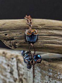 Bohemian lampwork bracelet.... CUSTOM order for by DeniseAnnette