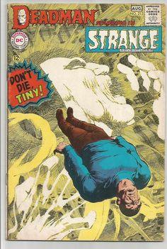 DEADMAN in STRANGE ADVENTURES #213 NEAL ADAMS DC COMICS 1968 FINE $24 up Auction