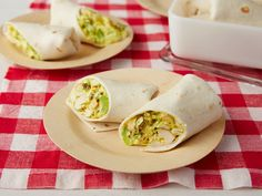 Curried Chicken Wraps recipe from Ina Garten via Food Network