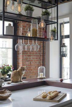 building a house Luxury Kitchen Design, Kitchen Room Design, Home Decor Kitchen, Kitchen Interior, Küchen Design, Interior Design, Minimal House Design, Stylish Kitchen, Cafe Restaurant