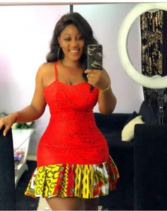 ec6b4b26dd4 Short ankara gown styles for big and beautiful plus size women