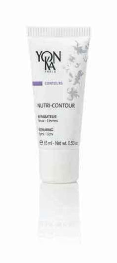 Yon-Ka Nutri Contour Nourishing Eye and Lip Cream 15ml £34.00  This anti-free radical cream is rich in anti-oxidant vitamins. prevents dry eye contours and chapped lips, successfully delays aging signs, helps diminish the appearance of expression lines, the perfect eye-lip daily shield loaded with moisture.