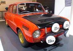 Skoda 120S Rallye red vr #CarPocket #CarBag Vr, Car Seats